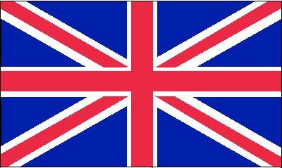 Großbritannien National Gastlandflagge