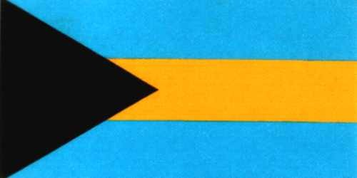 Bahamas National Gastlandflagge