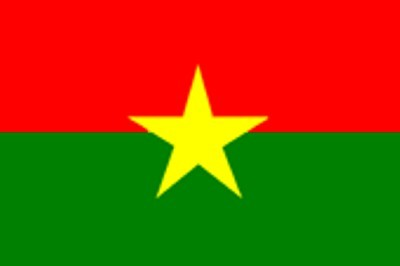 Burkina Faso ca. 100 cm x 150 cm