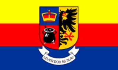 Nordfriesland: Lever düad us Slaw (Größe ca. 60 cm x 90 cm)