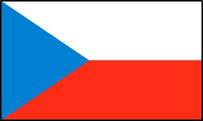 Tschechien Gastlandflagge