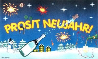 Silvester: Prosit Neujahr