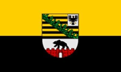 Sachsen - Anhalt Gastlandflagge