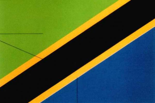Tansania Gastlandflagge