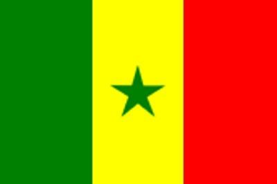 Senegal ca. 100 cm x 150 cm