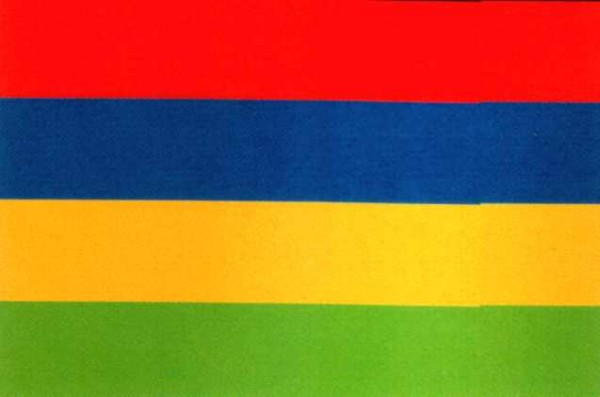 Mauritius Gastlandflagge