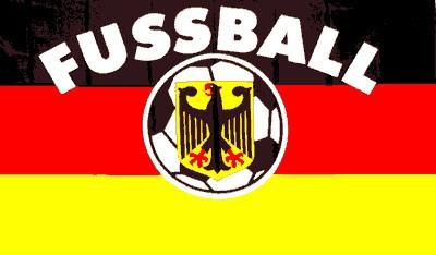 Deutschland mit Fußball