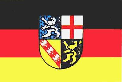 Saarland ca. 100 cm x 150 cm