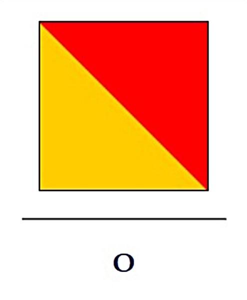 Signalflagge O (Oscar)