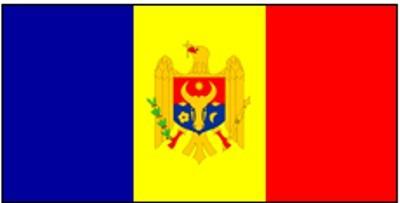 Moldawien Gastlandflagge