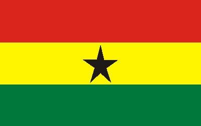 Ghana ca. 100 cm x 150 cm