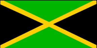 Jamaika Gastlandflagge