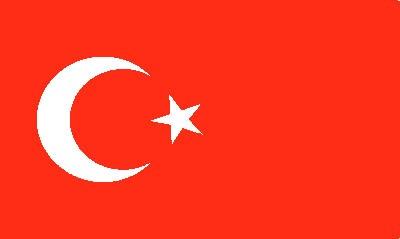 Türkei Gastlandflagge
