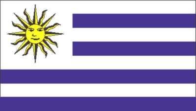 Uruguay Gastlandflagge