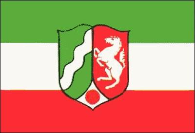 Nordrhein - Westfalen Gastlandflagge
