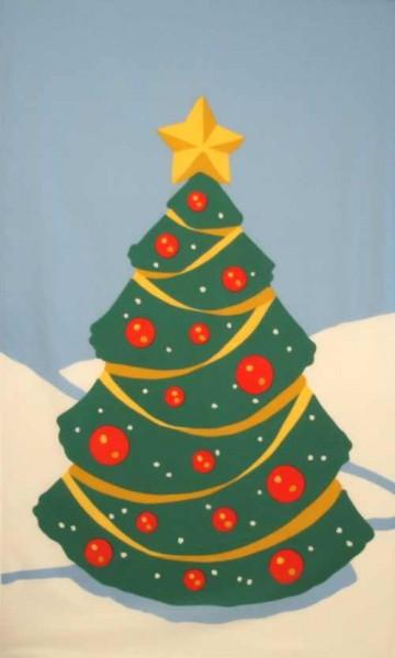 Weihnachten 9: Weihnachtsbaum (Hochformat)