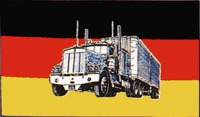 Deutschland mit LKW