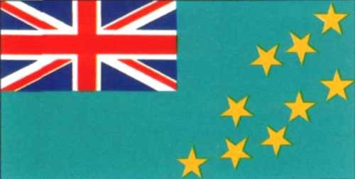 Tuvalu Gastlandflagge