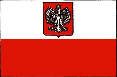 Polen mit Wappen