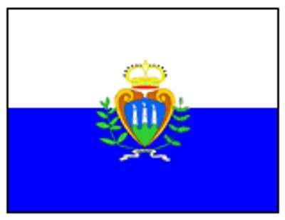 San Marino mit Wappen FB