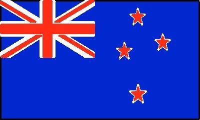 Neuseeland Gastlandflagge