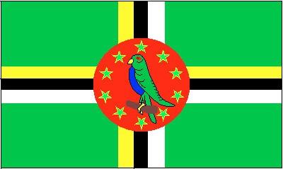 Dominica ca. 100 cm x 150 cm