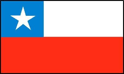 Chile Gastlandflagge