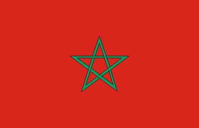Marokko Gastlandflagge