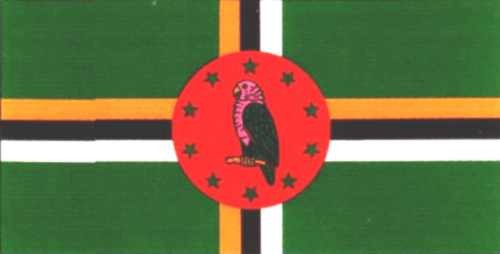Dominica Gastlandflagge