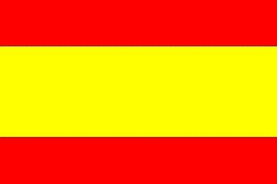 Spanien ohne Wappen ca. 100 cm x 150 cm