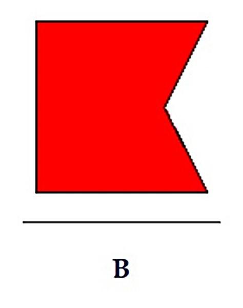 Signalflagge B