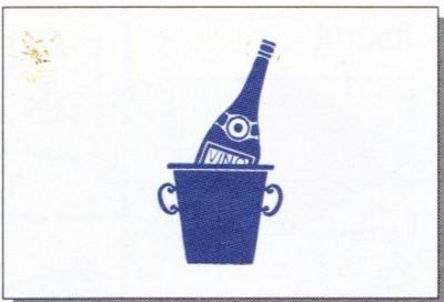 Wein (Spassflagge) ca. 30 x 45 cm