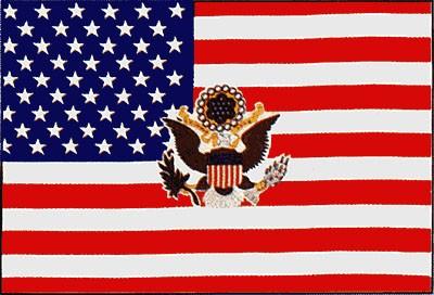 USA Präsidentenstander (Größe ca. 60 cm x 90 cm)