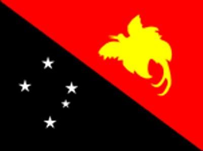Papua Neuguinea Gastlandflagge