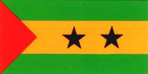 Sao Tomé & Principe ca. 100 cm x 150 cm