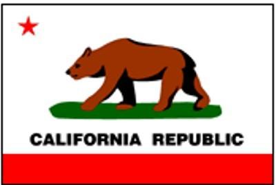 Kalifornien (Größe ca. 60 cm x 90 cm)