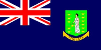 Britische Jungferninseln Gastlandflagge