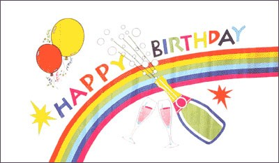 "Geburtstag: ""Happy Birthday"""