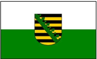 Sachsen (Größe ca. 60 cm x 90 cm)