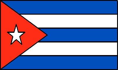 Kuba Gastlandflagge