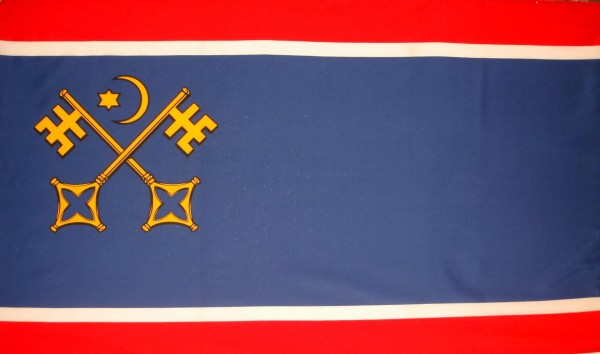 Stadtflagge St. Peter Ording