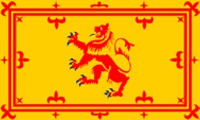 Schottland Banner (Größe ca. 60 cm x 90 cm)