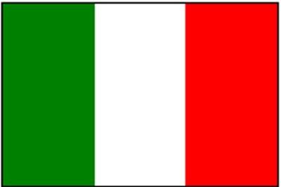 Italien National Gastlandflagge