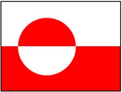 Grönland ca. 100 cm x 150 cm