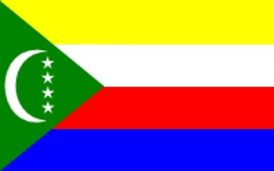 Komoren Gastlandflagge