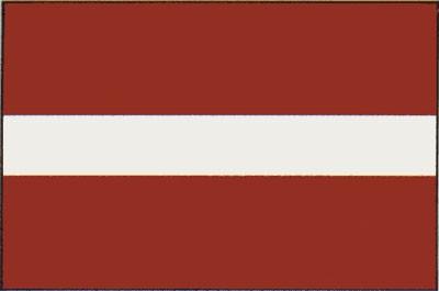 Lettland Gastlandflagge