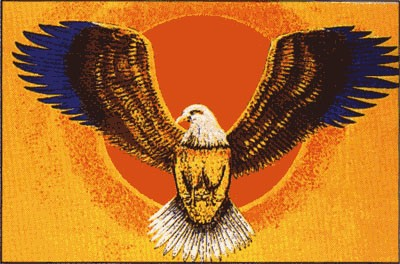 Adler (Größe ca. 60 cm x 90 cm)