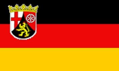 Rheinland - Pfalz Gastlandflagge