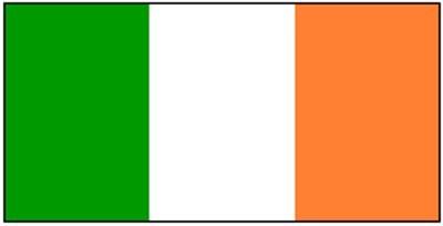 Irland Gastlandflagge