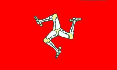 Isle of Man ca. 100 cm x 150 cm